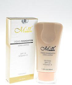 MN Liquid Foundation Long Lasting Spf 15 Vitamin E Oil-Free (233-F08015)