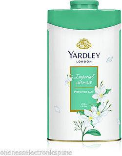 Yardley London Imperial Jasmine Perfumed Talcum Powder 250 G Made In England