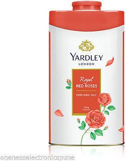 Yardley London Royal Red Rose Perfumed Talcum Powder 250 g 8.8 oz Made In England