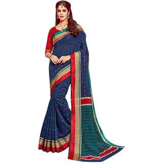 Ashika Cotton silk  Woven  Coffee Brown  Saree for Women
