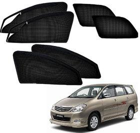 Auto Addict Zipper Magnetic Sun Shades Car Curtain For Toyota Innova