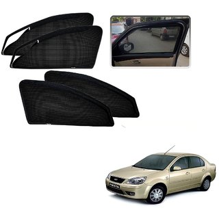 Auto Addict Zipper Magnetic Sun Shades Car Curtain For Ford Old Fiesta