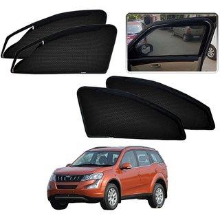 Auto Addict Zipper Magnetic Sun Shades Car Curtain For Mahindra XUV 500 New