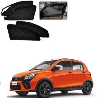Auto Addict Zipper Magnetic Sun Shades Car Curtain For Maruti Suzuki Celerio X