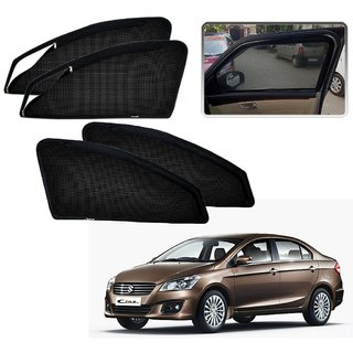 Auto Addict Zipper Magnetic Sun Shades Car Curtain For Maruti Suzuki Ciaz