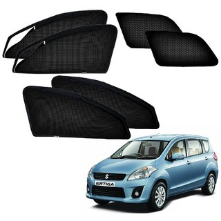 Auto Addict Zipper Magnetic Sun Shades Car Curtain For Maruti Suzuki New Ertiga