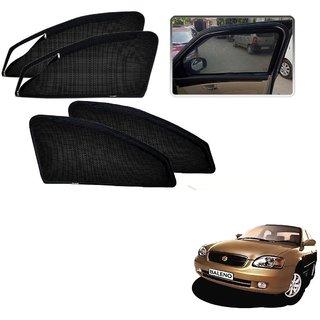 Auto Addict Zipper Magnetic Sun Shades Car Curtain For Maruti Suzuki Baleno