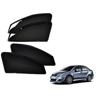 Auto Addict Zipper Magnetic Sun Shades Car Curtain For Maruti Suzuki SX4