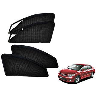 Auto Addict Zipper Magnetic Sun Shades Car Curtain For Toyota Corolla Altis