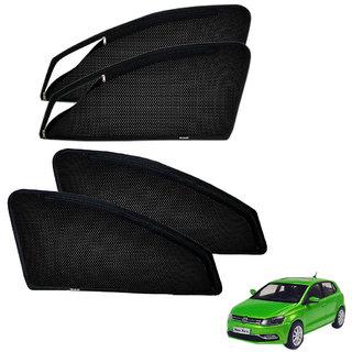 Auto Addict Zipper Magnetic Sun Shades Car Curtain For Volkswagen Polo Exquisite