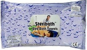 OM Bed Bath Towels Cleans  Moisturize Skin -10 pcs