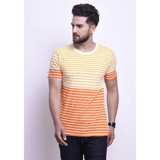 6fad72b4307 Buy Stylesmyth Off-White Cotton Printed Half Sleeves T-shirt Online ...