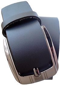 Fashion Trend Black Pure Leather Belt For Men