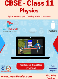 CBSE Class 11 Physics Educational Video Lectures Pendrive LearnFatafat
