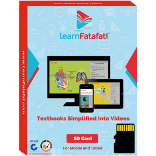 CBSE Class 11 Physics Educational Video Lectures SD Card LearnFatafat