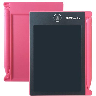 Portronics POR-881Portable RuffPad E-Writer 4.4 LCD Writing Pad Paperless Memo Digital Tablet Notepad Stylus Drawing H