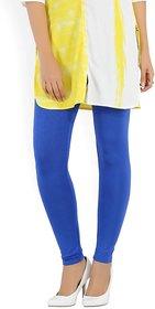 blue plain legging