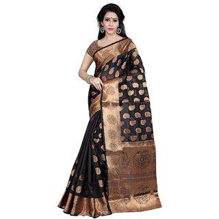 93568ea098f Buy Tina Fashion Banarsi Silk saree Sari daily wear and party wear sari  with blouse saree Online - Get 57% Off