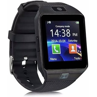 Vivo V5 Compatible DZ09 Bluetooth Smartwatch with Camera Sim Card/SD Card Support By BUYSHOP