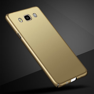 new style 19070 a5f6d 4Cut Matte Finish Rubberised Hard Case Cover For Samsung Galaxy J5 2016 -  Gold