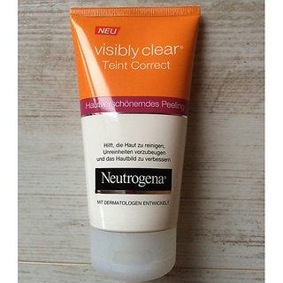 Neutrogena Visibly Clear Teint Correct Face Wash