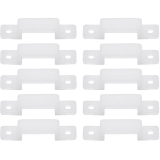 10mm LED Fixing Silicon Mounting Clips ( Pack of 30 Clips )