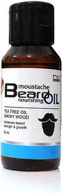 HTI Moustache and Beard Tea Tree Beard  Oil