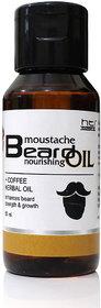 HTI Moustache and Beard Coffee Herbal Beard Oil