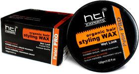 HTI EXPERTS Organic Hair Styling Wax- Wet look