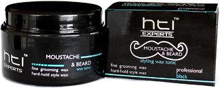 HTI EXPERTS Moustache  Beard Wax Tonic (Black)