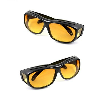 022ea7f4947 Buy HD Wrap NV Night Vision Glasses Best Quality Yellow Color NV NIGHT VIEW  Glasses In Best Price 1Pcs. (AS SEEN ON TV) Online   ₹199 from ShopClues