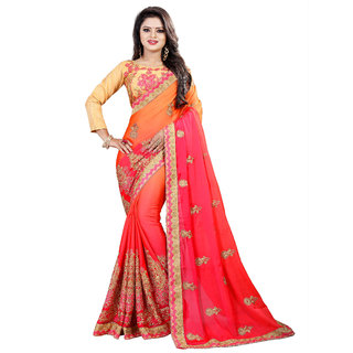 aksh fashion bollywood high selling georgette saree letest 2018 products