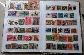 INDIAN STAMPS - 100 DIFF - MAJORLY VERY OLD