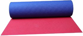 World Class Soft Quality Super comfortable Non - Slip - Tech Ultimate yoga Mat ( 6 mm - In Two In One Colour Style )