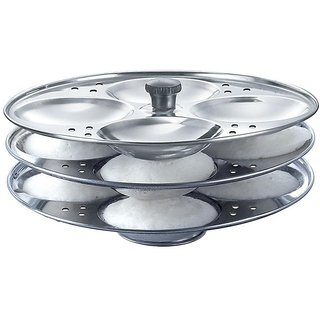 Stainless Steel Idli Stand (3 plate)