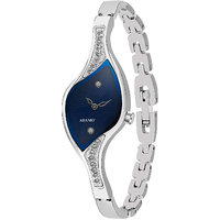 Adamo Analog Blue Dial Womens Watch