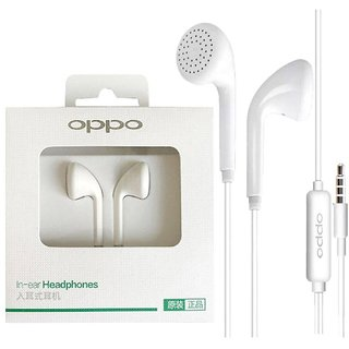 Oppo Compatible MH133 R9 Earphone In-Ear Stereo 3.5mm Music Ear Phone Headphone - Exclusively designed for OPPO F1, F1+,
