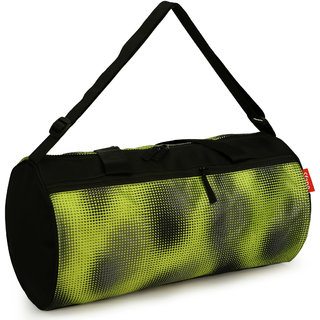e4ef904ce4 Buy Sfane Men Women Black Printed Sports Duffel Gym Bag Online - Get ...