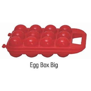 SNR Portable 12 Egg Carrier Holder Picnic Plastic Container Camping Storage Fridge