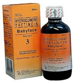 original RDL baby face 3 anti acne/ keratolytic depigmentin  anti spot astringent