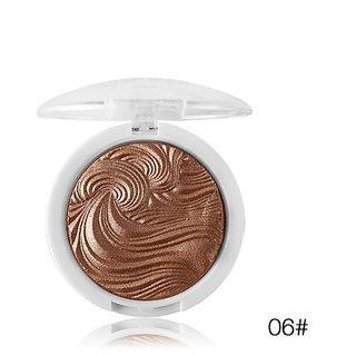 Miss Rose Glow Kit illuminator Base  makeup Shimmer Powder Highlighter palette highlight contour golden bronze