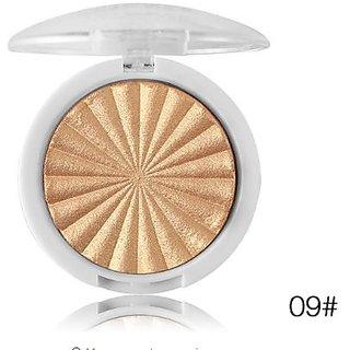 Miss Rose Glow Kit illuminator Base  makeup Shimmer Powder Highlighter palette  contour golden bronze