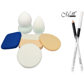 Beauty Blender Powder concealer Foundation Pack of 6 Pcs