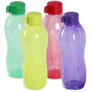 TUPPERWARE BOTTLE 1 LITRE (1000ml) Bottle - 1 Ltr -(4Pc Set)