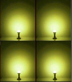 NIPSER 9 Watt Warm White LED Bulb ( Pack of 4)