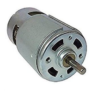 DC Motor 12V (Pack Of  2 Pc) 5000 RPM Mini For Project/Toys,PCB Drill,DC Fan, Operating Voltage 6 - 12V