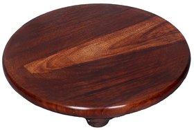 Desi Karigar Wood Chakla (9 Inch)