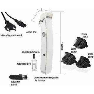 Unisex Styish High quality Hair Trimmer 216  With 3 attachment  rechargeable men shaving  Any Time Any Where
