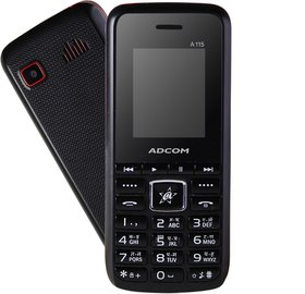 Adcom A 115 Dual Sim Mobile Phone With Big Battery 1800