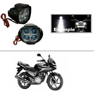 THE ONE CUSTOM 4 Led Small Circle Motorcycle Light Bike Fog Lamp Light - 2 Pc Honda CBF Stunner